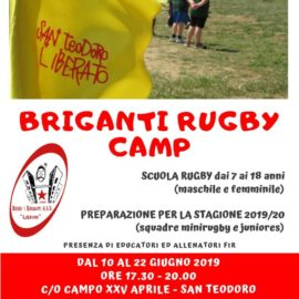 Briganti Rugby Camp